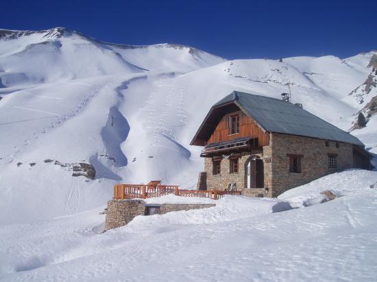 Le refuge en février 2008