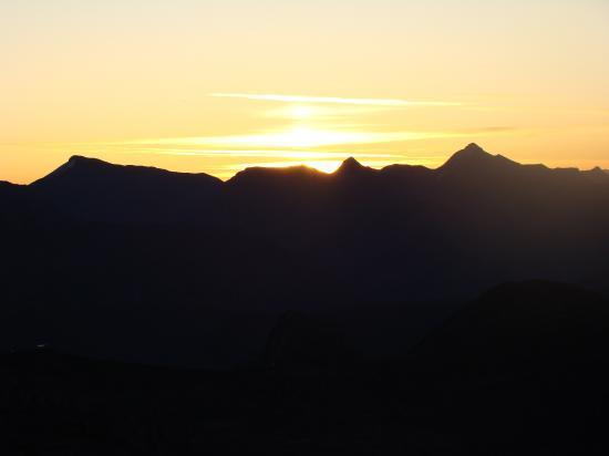 Lever de soleil sur le Mt Pelat