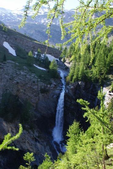 la cascade de la Piche
