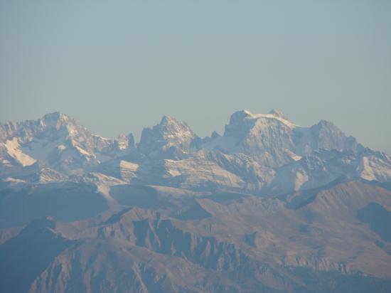 Vue sur le massif des Ecrins